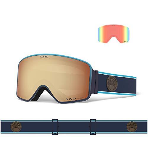 Giro Method Máscara esquí/Snow, Hombres, Azul, Talla Única