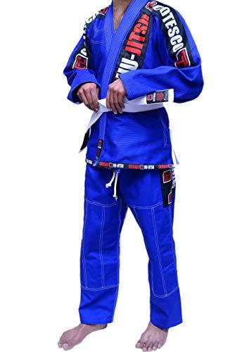 COTESCO Best 450 GSM Braziliaanse Mma Groen Ultra Licht Bjj Patches Gi Jiu Jitsu Gi Gear Kleding Kimono Parel Weave 100% Katoen Uniform Suit Te Koop