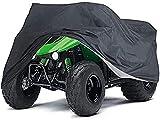 SKYWPOJU Cortacésped toldo cubierta de capó de tractor de césped resistente a los rayos UV impermeable cortacésped con asiento cubierta de polvo cubierta de protección contra la intemperie cubierta pr