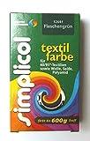 Simplicol  Restposten Textilfarbe 25g FLASCHENGRÜN von Brauns-Heitmann 23,96€/100g