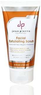 Jean Pierre Cosmetics Facial Exfoliating Scrub, 5 Fluid Ounce