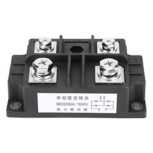 MDQ300A/1600V Single-Phase Diode Bridge Rectifier,Large Over-Current Capacity,Good Heat Dissipation,Low Voltage Drop,Good Welded Structure