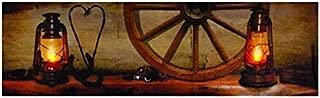 Ohio Wholesale Western Mantle Lighted Canvas 6