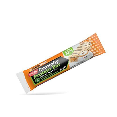 Named Crunchy Protein Bar Confezione 24 Barrette Da (Cappuccino)