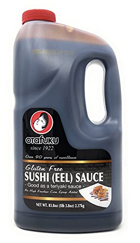 Otafuku Gluten Free Sushi Unagi Eel Sauce, 83.8 Oz (1/2 Gallon)