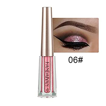 Eyeshadow Palette,Metallic Shiny Smoky Eyes Eyeshadow Waterproof Glitter Liquid Eyeliner