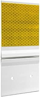 Hinged Guardrail Reflector, Single, HIP, Yellow 4