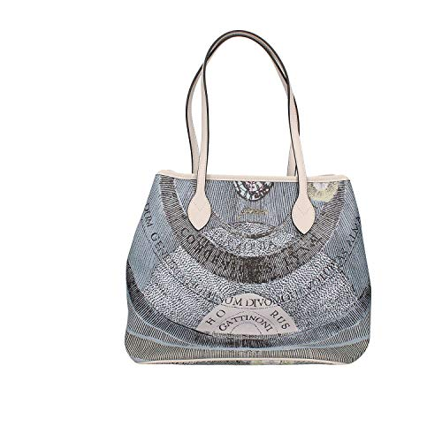 Gattinoni Begpl6434wpqp77 Shopping Bag Donna Bianco TU