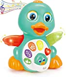 Huile Musical Light Up Dancing Duck 808D- Infant, Baby and Toddler Musical and Educational Toy for Boys and Girls [Amazon Exclusive]