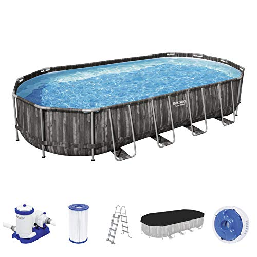 Bestway 5611T Piscina Fuori Terra Power Steel da 732X366X122 cm