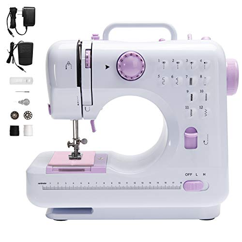 Singer Sewing Machine Portable Kids Handheld Sewing Machine Compact and Lightweight Mini Sewing Machine for Beginners Convenient to Carry Suitable for DIY Dialy Sewing Portable Handheld Sewing Machine
