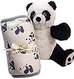 KEEPING KALM Pang Panda Microwavable Stuffed Animals & Weighted Lap Pad for Kids Bundle, Lavender Scented, Weighted Stuffed Animal, Sensory Toys, Fidget Blanket, Portable Heating Pad