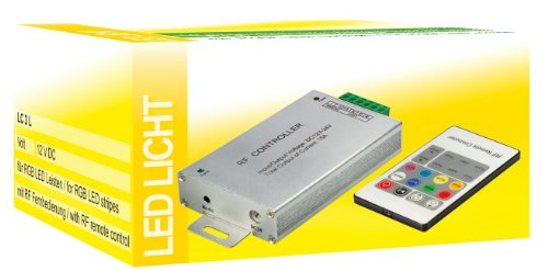 Transmedia LC3L RGB LED-Bande Contrôleur télécommande avec radio 12 V