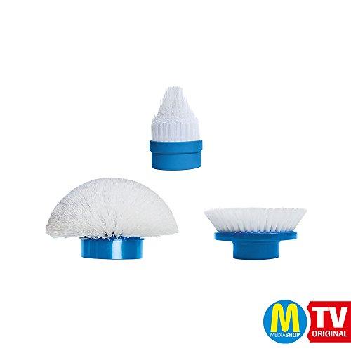 Mediashop Hurricane Spin Scrubber 3 Stück Ersatzbürsten Putzen Schrubben | Das Original