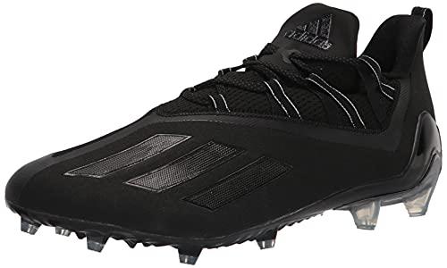adidas Men's Adizero Running Shoes, Black/Black/Grey, 9.5