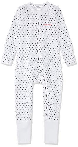 Bonds baby-girls Wondercool Zippy - Zip Wondersuit, Sunshine Baby White, 0000 (Newborn)