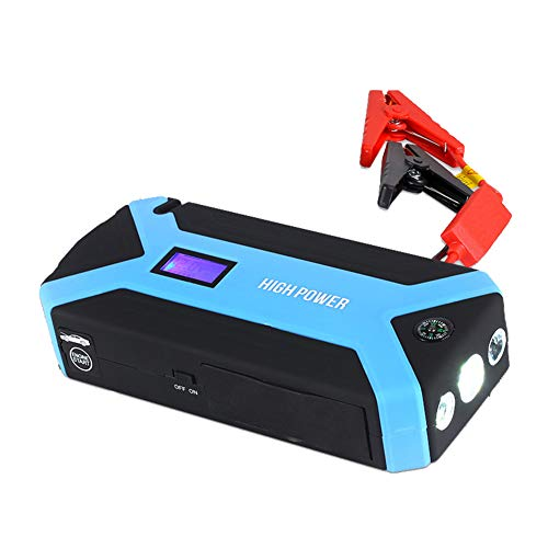 Read About 600A Peak 12000Mah Car Jump Starter (Up to 3.5L Gas, 2.5L Diesel Engine) with Long Standb...