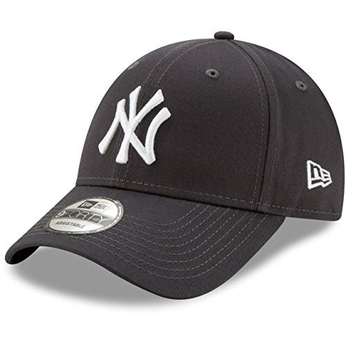 New Era Gorra de béisbol 9FORTY York Yankees Grafito - Ajustable