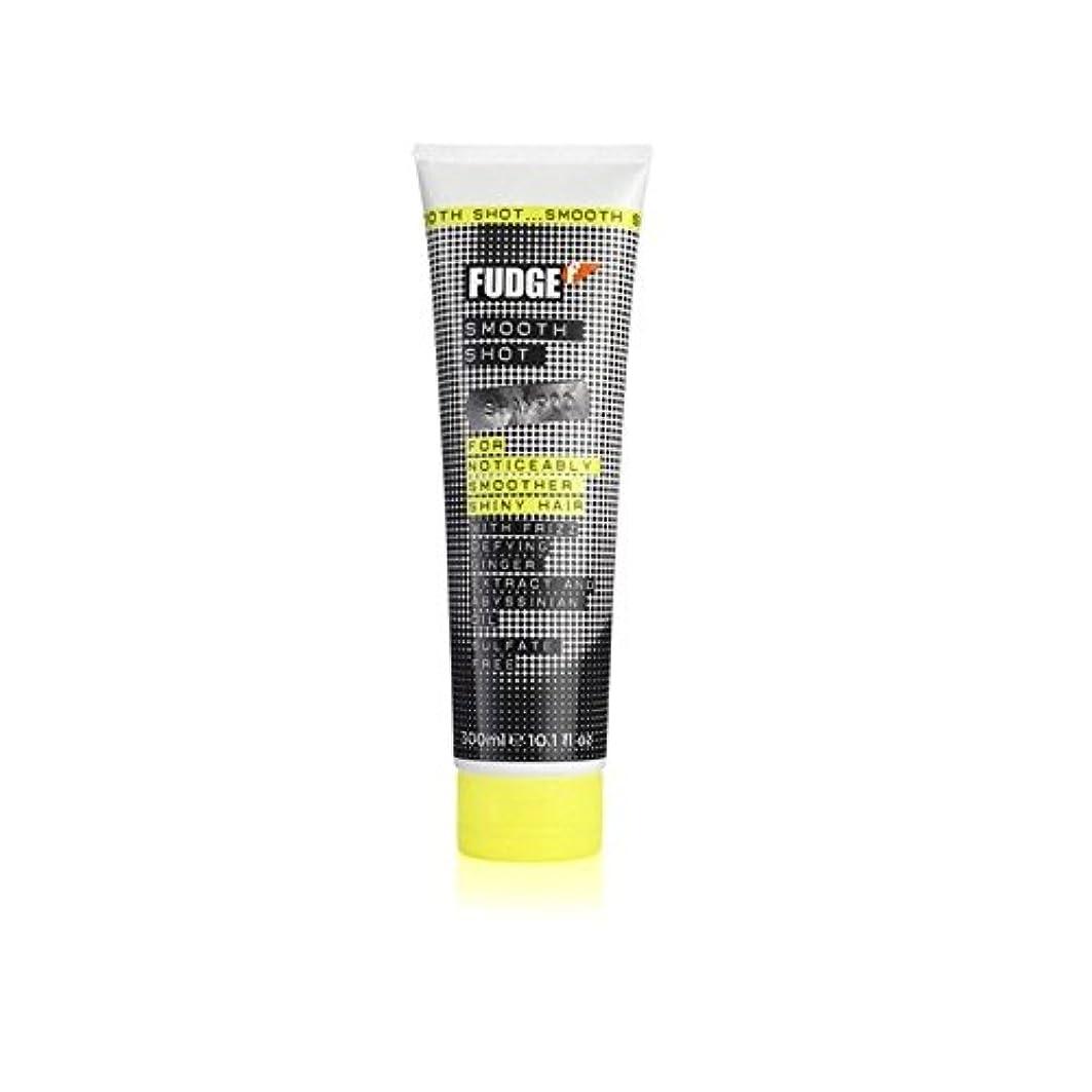 対処残酷なエアコンファッジスムーズなショットシャンプー(300ミリリットル) x4 - Fudge Smooth Shot Shampoo (300ml) (Pack of 4) [並行輸入品]