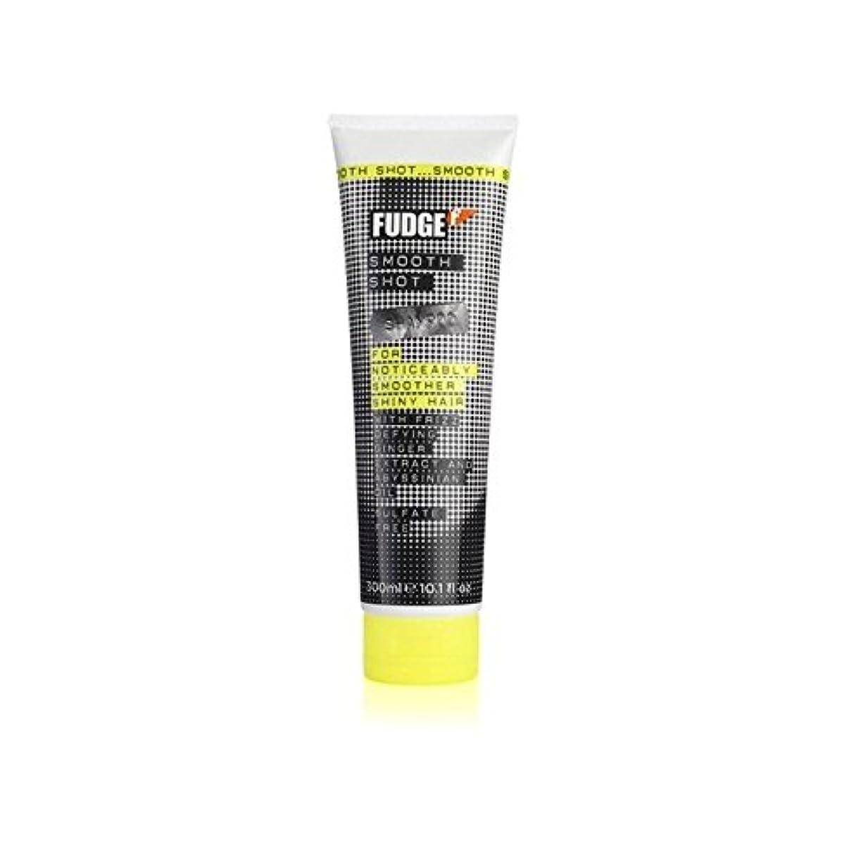 悪性腫瘍経営者振るファッジスムーズなショットシャンプー(300ミリリットル) x2 - Fudge Smooth Shot Shampoo (300ml) (Pack of 2) [並行輸入品]