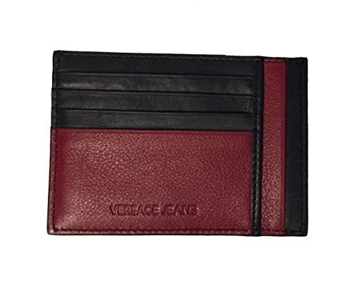 Versace Jeans Tarjetero negro rojo E3YRBPC4