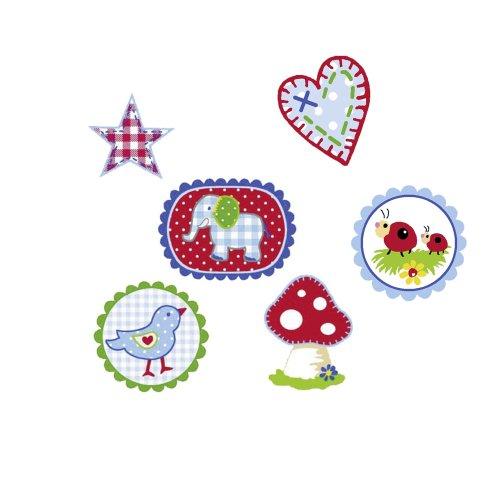 Die Spiegelburg 90196 Textile Sticker Baby Glück
