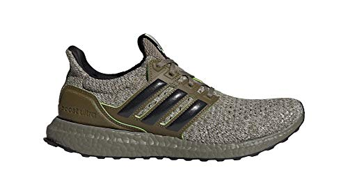 adidas Originals Ultraboost DNA x Star Wars Yoda, Trace Cargo-Core Black-Raw Khaki, 10