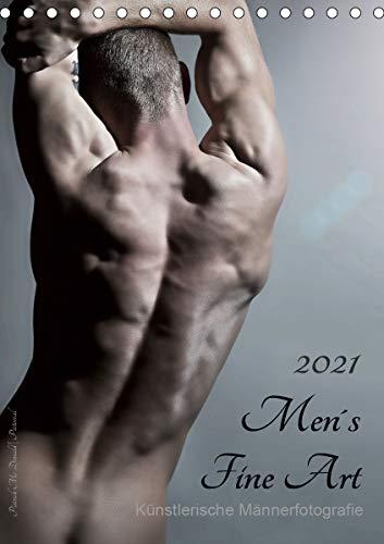 Men´s Fine Art - Künstlerische Männerfotografie (Tischkalender 2021 DIN A5 hoch)