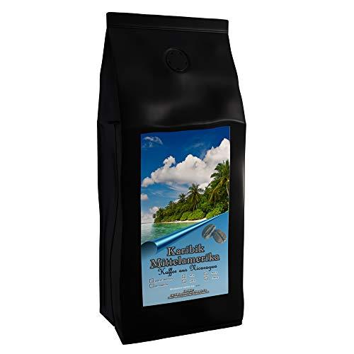 Kaffeespezialität Aus Mittelamerika - Nicaragua, Dem Land Der tausend Vulkane (1000 Gramm, Ganze Bohne) - Länderkaffee - Spitzenkaffee - Säurearm - Schonend Und Frisch Geröstet