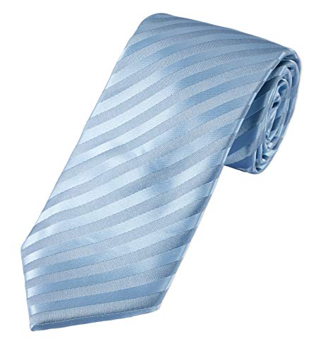 PUCCINI fein gestreifte XXL-Krawatte | extra lang, Mikrofaser