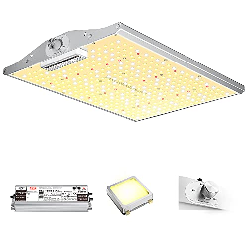 LED Grow Light, VIPARSPECTRA Latest Upgraded XS1500 LED Grow Light with Samsung LM301B Diodes (IR Included) & MeanWell Driver, Dimmable Full Spectrum Grow Light for Indoor Plants Veg Bloom 360PCS LEDs