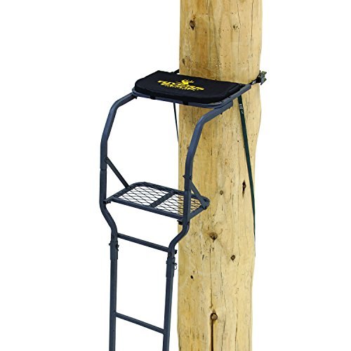 Rivers Edge RE646, Classic One Man Ladder Stand, Black