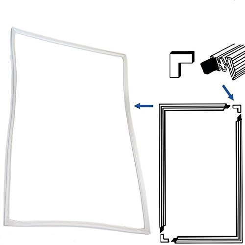 Universal Türdichtung Kühlschrank 4-seitig 200x100 cm zum Selbstanfertigen Türe