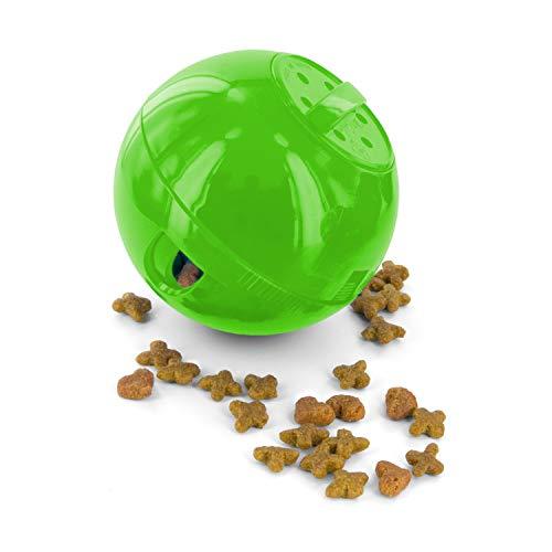 PetSafe SlimCat Food-Dispensing Cat Toy Green, Treat Toy, Interactive Food...