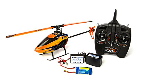 Blade 230 S V2 RTF RC Helicopter: Brushless CP Heli | 2.4GHz DXe Tx/Rx Radio System with SAFE Technology |3S LiPo Battery and Charger, Orange - BLH1400