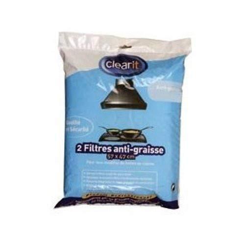 Filtre l anti graisse (301203-5107) Hotte 71S7824 BRANDT