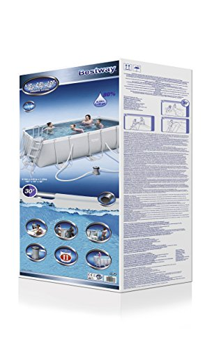 Bestway Frame Pool Power Steel Set 412x201x122 cm - 4