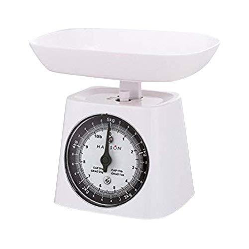 Terraillon - Báscula de Cocina con Cuenco (5 kg), Color Blanco