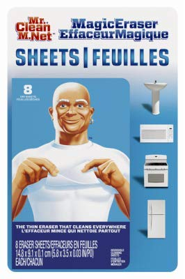 Mr. Clean 24376040 Mr Clean Magic Eraser Sheets Original 1-Pack (90618)