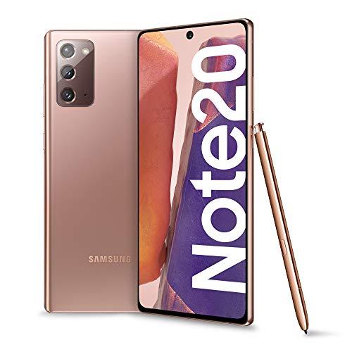 Samsung Galaxy Note20 Smartphone, Display 6.7  Super Amoled Plus Fhd+, 3 Fotocamere Posteriori, 256Gb, Ram 8Gb, Batteria 4300 Mah, Dual Sim + Esim, Android 10, Rosa