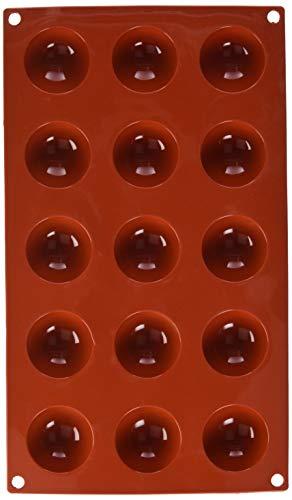 Garcia de Pou 166.11 Bakblik met zijdeglans, 17,5 x 30 cm, rood