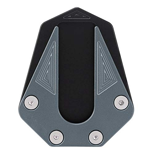 Motorcycle Kickstand, Anti-skid Foot Kickstand Extension Pad Enlarger for Benelli TRK 502(titanium)