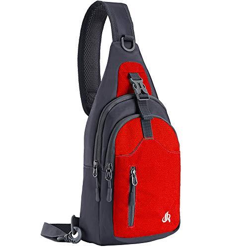 Y&R Direct Sling Backpack Sling Bag Travel Hiking bag for Kids Men Women
