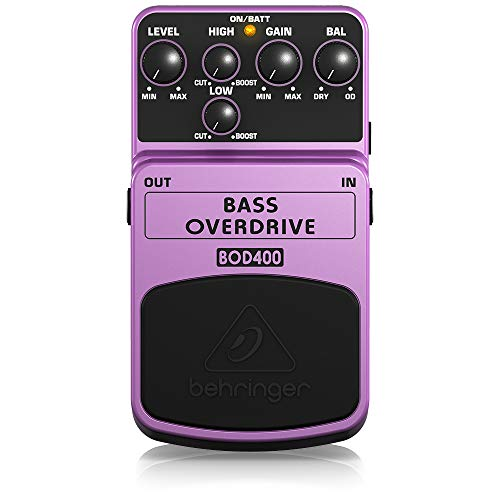 Behringer Bass Overdrive BOD400 Effects Pedal