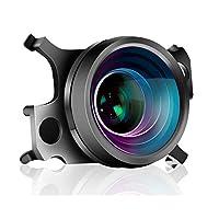 Taoricup DJI MAVIC AIR 2 対応 広角レンズ/魚眼レンズ/1.33 Xアナモルフィックレンズ (広角レンズ)