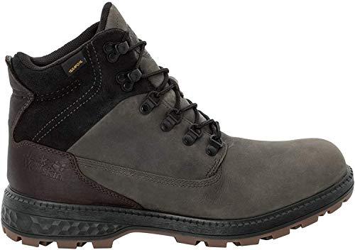Jack Wolfskin Herren Jack Texapore MID M Wasserdicht Combat Boots, Grau (Dark Steel/Black 6059), 40 EU
