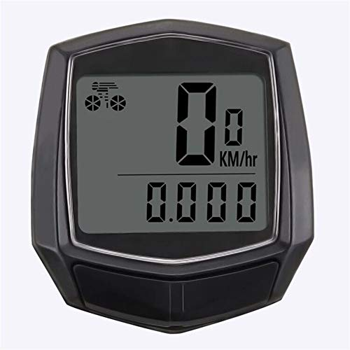 LZJDS Bicycle Computer, Multifunctional Waterproof and Durable Portable Bicycle Speedometer with HD LCD Display, for Bicycle Enthusiasts