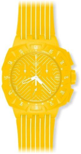 Reloj Swatch amarillo - Unisex de Cuarzo