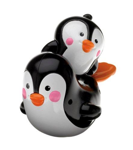 Fisher-Price - N8847 - Jouet de Bain - Maman & bébé Pingouin