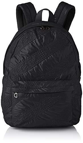 Desigual Backpack Big, Fabric-Mochila (tamaño Grande) para Mujer, Negro, Medium